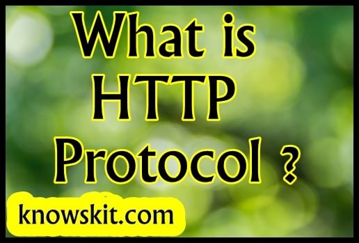 What is HTTP Protocol